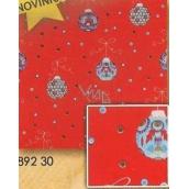 Nekupto Vánoční balicí papír Baňky 2 x 0,7 m