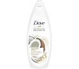Dove Nourishing Secrets Kokos Pečující rituál srchový gel s kokosovým olejem a mandlovým mlékem 250 ml