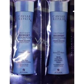 Alterna Caviar RepaiRx Duo Sachet vzorek šamponu a kondicionéru pro poškozené vlasy 2 x 7 ml