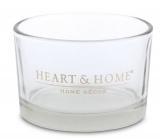 Heart & Home Svietnik na sviečku v mištičke 7,5 x 4,5 cm