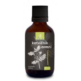 Allnature Kotvičník zemný bylinný liehový extrakt pre zvýšenie chute na sexuálne hry, alebo ku komplexnej harmonizácii vlastného tela a jeho kondíciu doplnok stravy 50 ml