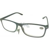 Berkeley Čítacie dioptrické okuliare +3,5 plast šedé čierne stranice 1 kus MC2135