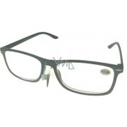 Okuliare diop.plast. + 3,5 sivé čierne stranice MC2135
