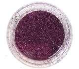 Professional Ozdoby na nechty glitter ružový tmavý 132