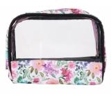 Albi Original Taška na kozmetiku s okienkom Hortenzie 18 cm x 14 cm x 6,5 cm
