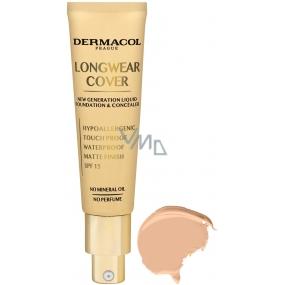 Dermacol Longwear Cover dlhotrvajúci krycí make-up 02 Fair 30 ml