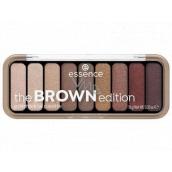 Essence Brown edition paletka očných tieňov 30 Gorgeous Browns 1 kus