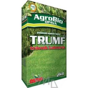 AgroBio Trumf trávník bakteria granulované organické hnojivo 2 kg