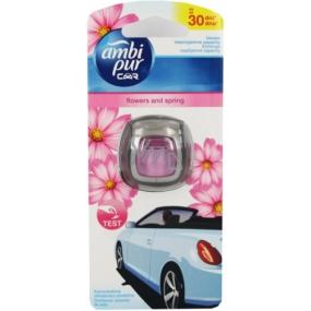 Ambi Pur Car Flowers and Spring osvěžovač vzduchu do auta 2 ml