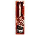 Nekupto Twister Lžička se jménem Iva červená 16 cm