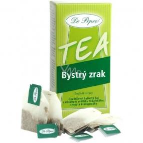 Dr. Popov Bystrý zrak bylinný čaj s obsahem světlíku lékařského 20 x 1,5 g
