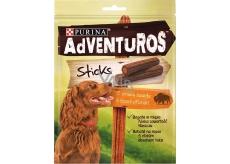 Purina Adventuros Sticks tyčinky s bizónie príchuťou 120 g