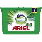 Ariel 3v1 Mountain Spring gelové kapsle na praní prádla 14 kusů 418,6 g