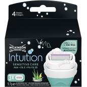 Wilkinson Intuition Sensitive Care Aloe + Vitamín B5 náhradné hlavice pre ženy 3 kusy