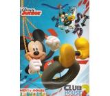 Ditipo Disney Dárková papírová taška pro děti L Mickey Mouse Twist Turn 26 x 13,7 x 32,4 cm 2902 009