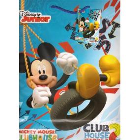 Ditipo Disney Darčeková papierová taška pre deti L Mickey Mouse Twist Turn 26 x 13,7 x 32,4 cm 2902 009