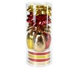 Ditipo Set k balení dárků červeno-zlato-žlutý 2811902