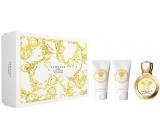 Versace Eros pour Femme Eau de Parfum toaletná voda pre ženy 50 ml + telové mlieko 50 ml + sprchový gél 50 ml, darčeková sada