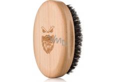 Angry Beards Gentler drevený kefa na fúzy 10,3 x 6,3 cm