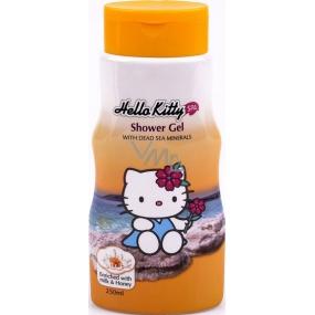 Hello Kitty Minerály z Mŕtveho mora sprchový gél pre deti 250 ml