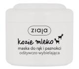 Ziaja Kozie mlieko maska na ruky a nechty 75 ml