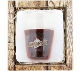 Bohemia Gifts & Cosmetics Rumový panák ručně vyráběné mýdlo v krabičce 70 g