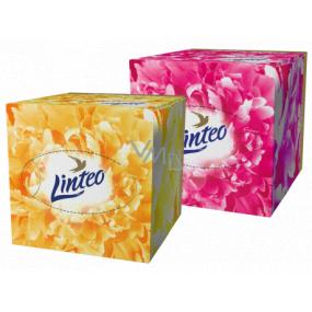Linteo Premium papierové vreckovky 3 vrstvové 60 kusov bielej
