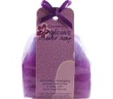 Sprchové masážne mydlo Čierne ríbezle - berrylicious