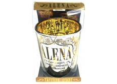 Albi Třpytivý svícenze skla na čajovou svíčku ALENA, 7cm