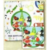 Nekupto Vánoční balicí papír pro děti Winter Magic, Mickey Mouse 0,7 x 1,5 m