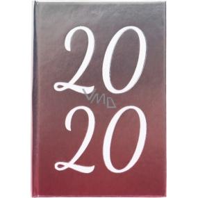 Albi Diár 2020 mini Metalický 11 x 7,5 x 1 cm