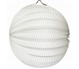 Lampión guľatý biely 21 cm