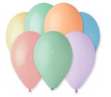 Balóniky makrónky mix farieb 26 cm 10 kusov