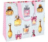 Nekupto Darčeková papierová taška s razbou 30 x 23 x 12 cm Parfumy 1860 LFL