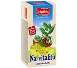 Apotheke Na vitalitu s Tribulus terrestris bylinkový čaj prispieva k tělovému a svalovému tonusu a energiu 20 x 2 g