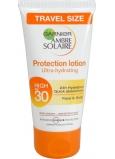 Garnier Ambre Solaire Protection Lotion OF30 opaľovacie mlieko Vysoká ochrana 50 ml