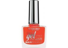 Deborah Gel Effect Nail Enamel gelový lak na nehty 10 Coral Flash 11 ml