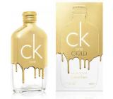 Calvin Klein CK One Gold dámská toaletní voda 100 ml