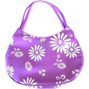 DÁREK Dermacol taška fialová s květy 25 x 16 x 6,5 cm