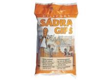 Kittfort Sádra Gips šedá stavební 3 kg