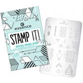 Essence Stamp It! šablony na razítko 02 Shapes Of Glory Fun!