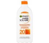 Garnier Ambre Solaire SPF20 mlieko na opaľovanie 400 ml