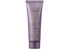 Alterna Caviar Moisture Intense Oil Treatment Olejová kaviárová hydratačný pred šampónový podkladová starostlivosti pre veľmi suché, hrubé, nepoddajné vlasy 25 ml Mini