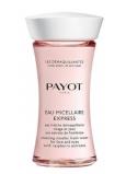 Payot Les Demaquillantes Eau Micellaire Express osviežujúca pleťová voda na odlíčenie tváre a očí s výťažkami z malín 75 ml Promo