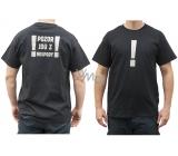 Bohemia Gifts & Cosmetics Originálne tričko s reflexným potlačou Pozor, idem z krčmy! veľkosť L