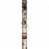 Ditipo Darčekový baliaci papier 70 x 200 cm Vianočný Disney Autá béžový