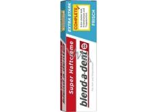 Blend-a-dent Extra Stark Frisch fixačný krém pre zubné náhrady, protézy 47 g