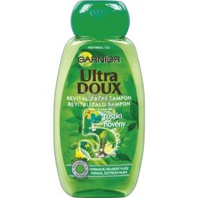 Garnier Ultra Doux 5 rastlín šampón pre normálne a oslabené vlasy 250 ml