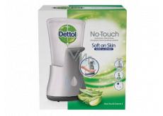 Dettol Aloe Vera bezdotykový dávkovač mydla a hydratujúce náplň s mydlom 250 ml