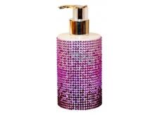Vivian Gray Diamond Sundown Purple luxusní tekuté mýdlo s dávkovačem 250 ml